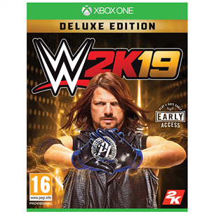 Xbox One game WWE 2K19 Deluxe Edition