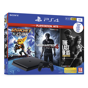 Gaming console Sony PlayStation 4 PlayStation Hits Bundle (1 TB)