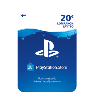 Sony PlayStation Network Live kaart (20 €)