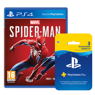 PS4 mäng Marvels Spider-Man (eeltellimisel)