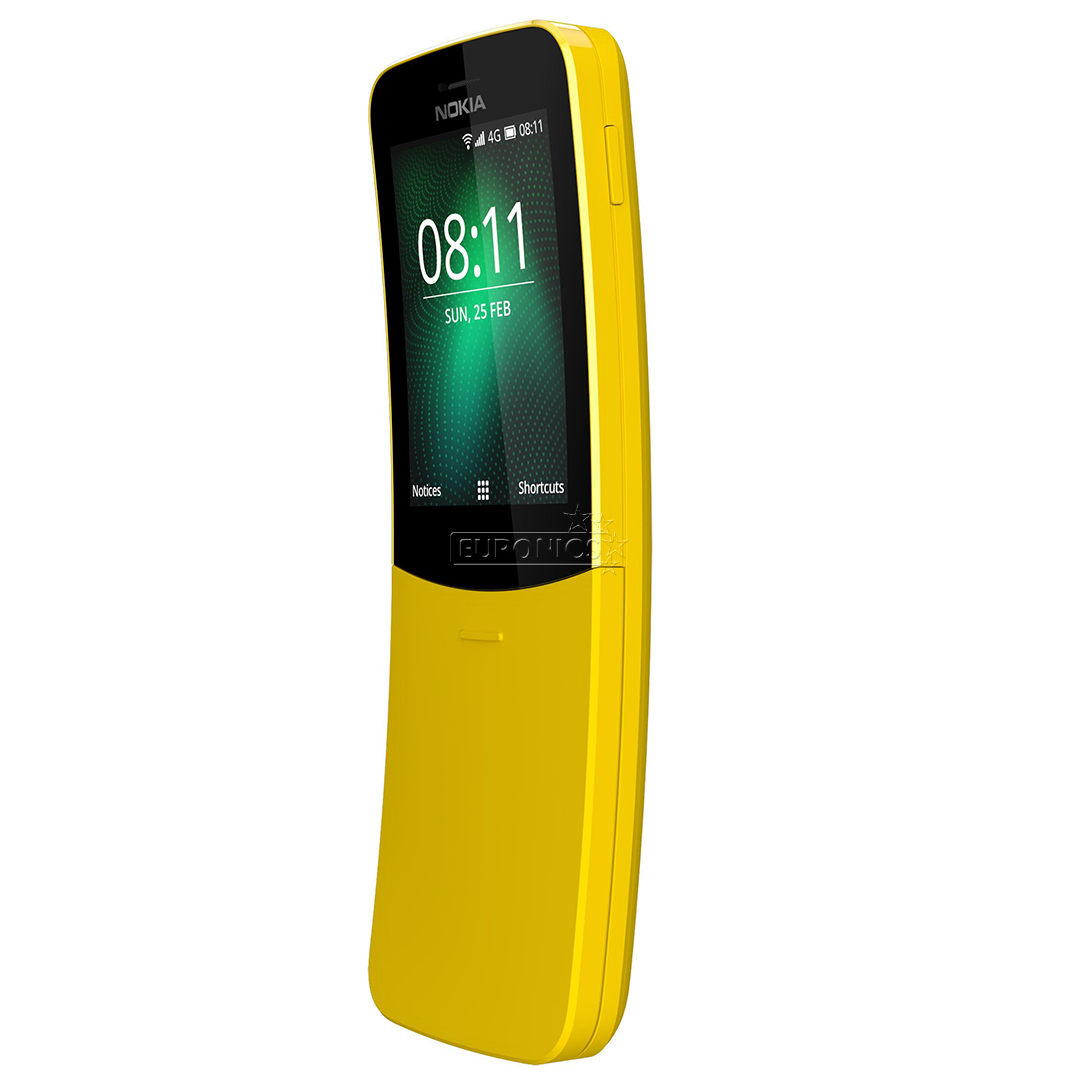 Smartphone Nokia 8810 Dual Sim Nokia8110dsyellow