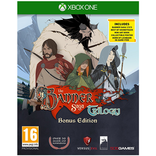 Xbox One mäng The Banner Saga Trilogy