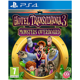 PS4 mäng Hotel Transylvania 3: Monsters Overboard