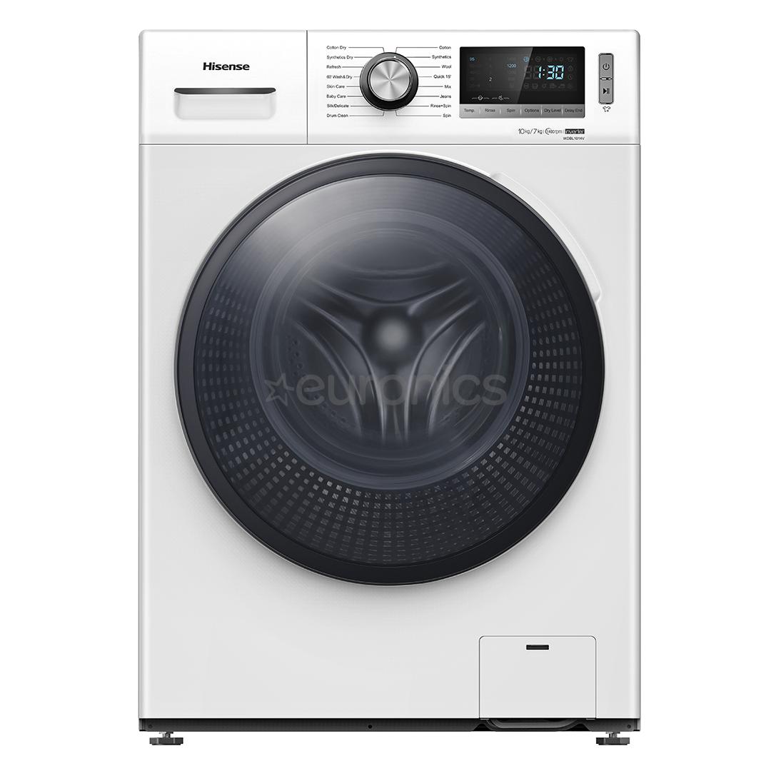 Washing Machine Dryer Hisense 10 Kg 7 Kg Wdbl1014v