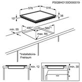 Integreeritav ahi + pliidiplaat Electrolux