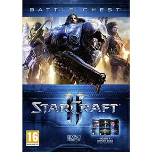PC game Starcraft 2 Battlechest