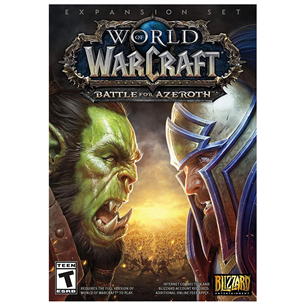 PC game World of Warcraft: Battle for Azeroth