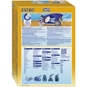 Пылесборник EIO 80 AirSpace (Micropor), Swirl