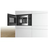 Интегрируемая микроволновая печь, Bosch  / объем: 25 L