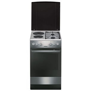 Combined cooker with electric oven, Hansa (50 cm) FCMX58099