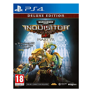 PS4 mäng Warhammer 40000: Inquisitor - Martyr Deluxe Edition