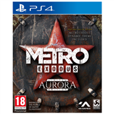 PS4 game Metro Exodus Aurora Limited Edition