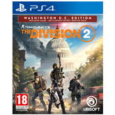PS4 game Tom Clancys: The Division 2 Washington D.C. Edition