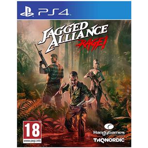 PS4 mäng Jagged Alliance Rage!