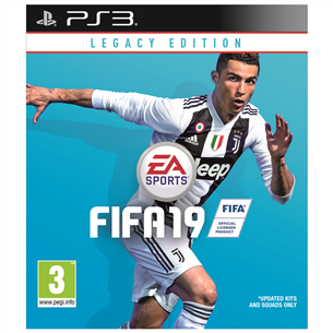 PS3 mäng FIFA 19 Legacy Edition