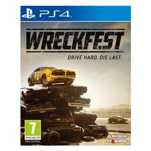 PS4 mäng Wreckfest