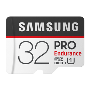 Micro SDHC mälukaart Samsung Endurance PRO + SD adapter (32 GB) MB-MJ32GA/EU