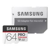 Micro SDHC mälukaart Samsung Endurance PRO + SD adapter (64 GB)