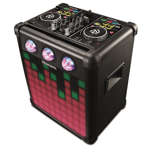 Music system DJ kontrolleriga Numark Party Mix Pro