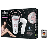 Epilator Silk-épil 9 SensoSmart + Facial brush, Braun