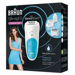 Epilator Braun Silk-épil 5 SensoSmart Wet & Dry SES5890