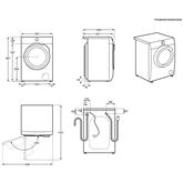 Pesumasin-kuivati Electrolux (8 kg / 6 kg)