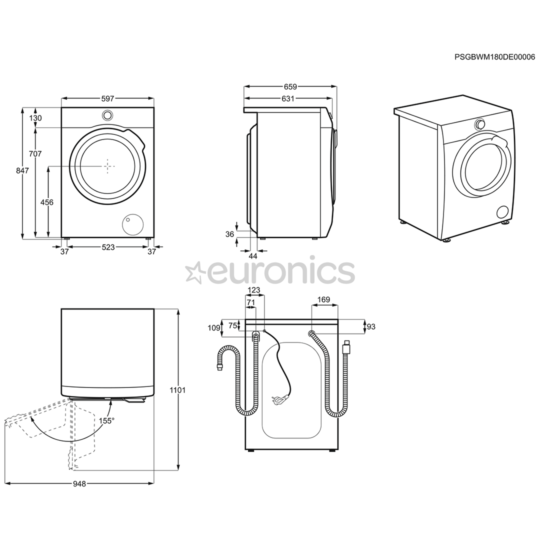 Washing Machine Electrolux 9 Kg Ew7f249s Wiring Diagram