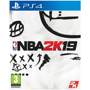 PS4 game NBA 2K19