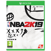 Xbox game NBA 2K19