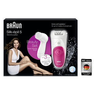 Epilaator Braun + näopuhastusharjake