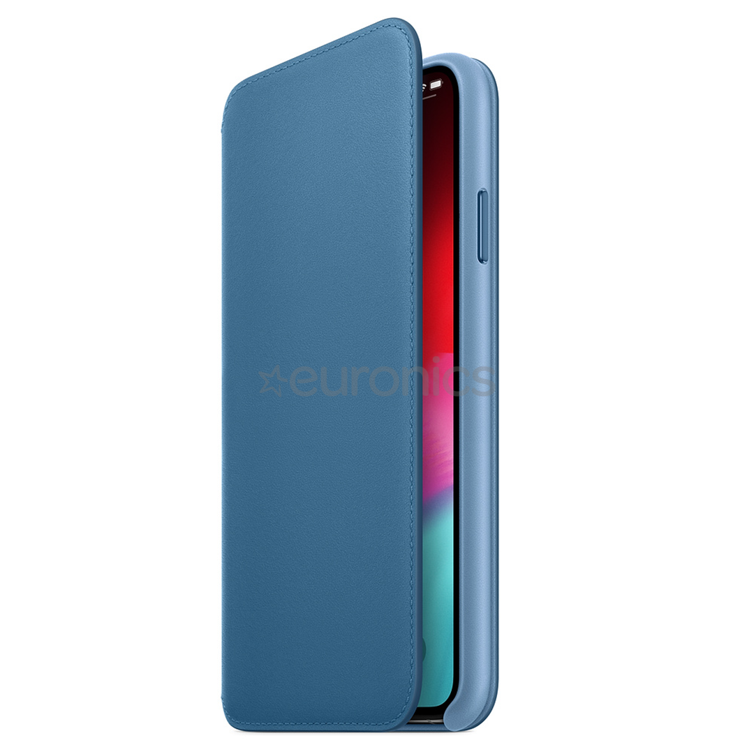 brand new 35a26 13d01 iPhone XS leather folio case Apple