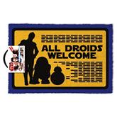 Doormat Star Wars Droids