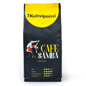 Jahvatatud kohv 7 Kohvipoissi Café Samba
