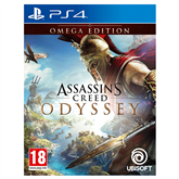 PS4 game Assassins Creed: Odyssey Omega Edition