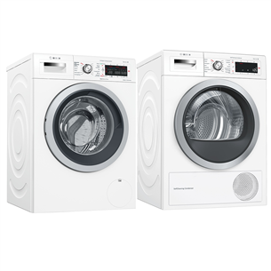Washing machine + dryer Bosch (9 kg / 9 kg)
