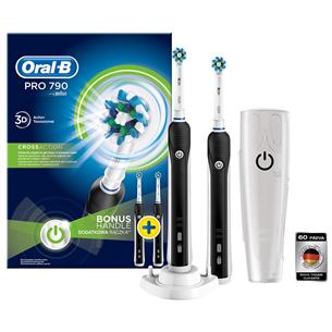 Electric toothbrus Oral-B PRO790 Duo, Braun