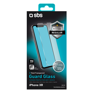 iPhone XR / 11 protective glass SBS