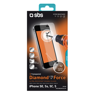 iPhone SE protective glass SBS