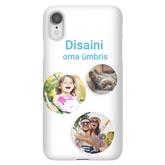 Чехол с заказным дизайном для iPhone XR / Snap (матовый)