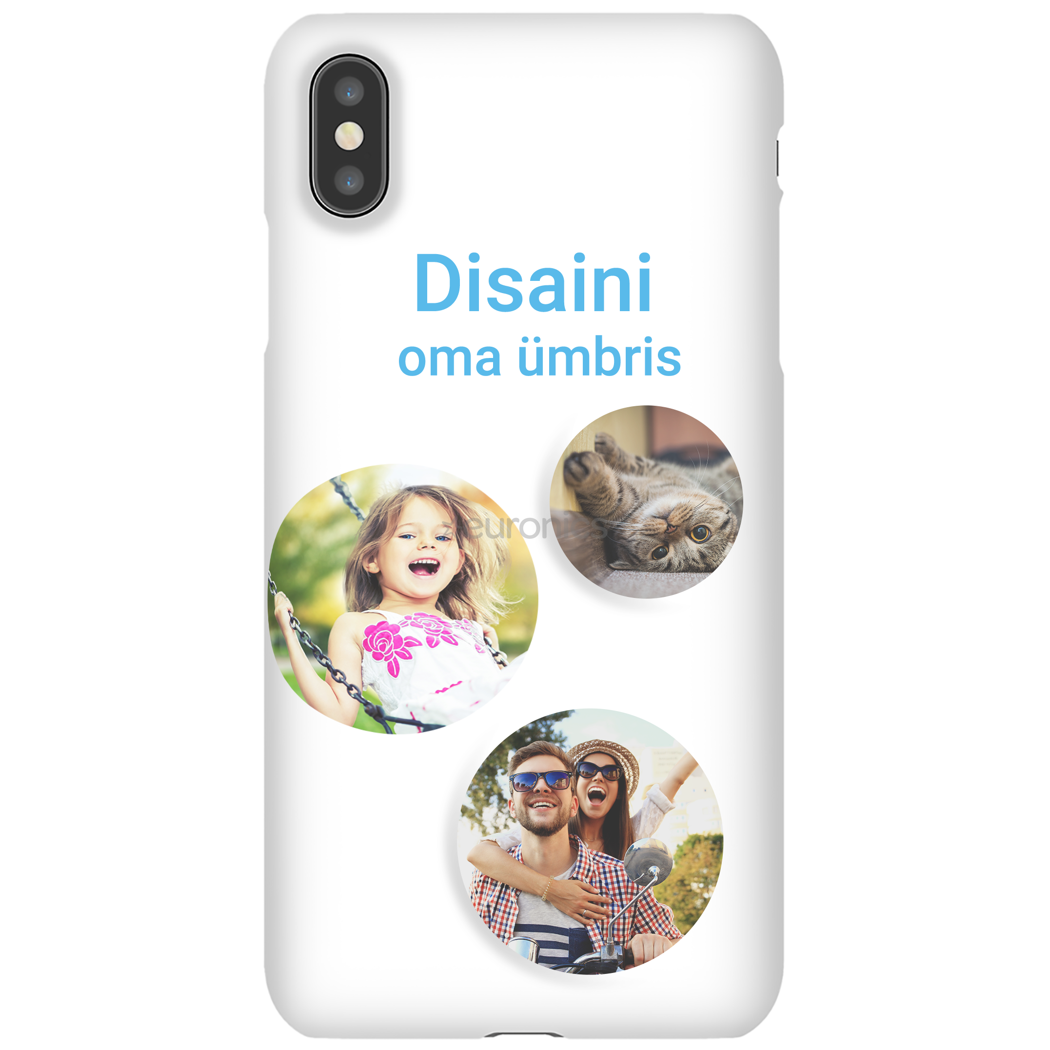 Personalized Iphone Xs Max Glossy Case Snap