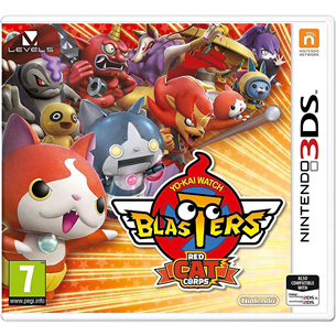 3DS mäng Yo-Kai Watch Blasters: Red Cat Corps