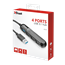 USB 3.1 hub Trust Aiva 4