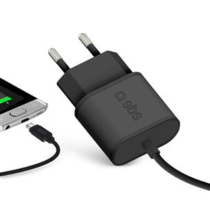 Зарядное устройство Micro USB, SBS / 2,1A