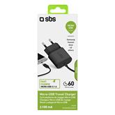 Toalaadija Micro USB SBS