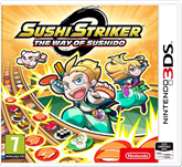 3DS game Sushi Striker: The Way of Sushido