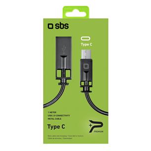 Kaabel USB-A - USB-C SBS Lux (1 m)