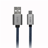 Juhe Micro USB SBS Denim (1 m)