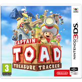 3DS mäng Captain Toad: Treasure Tracker