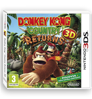 3DS mäng Donkey Kong Country Returns 3D