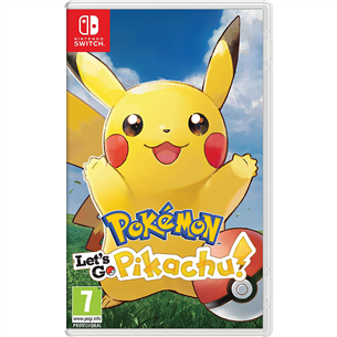Switch mäng Pokémon: Lets Go, Pikachu!